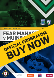 Ulster Senior Football Championship Semi Final - Fermanagh v Monaghan