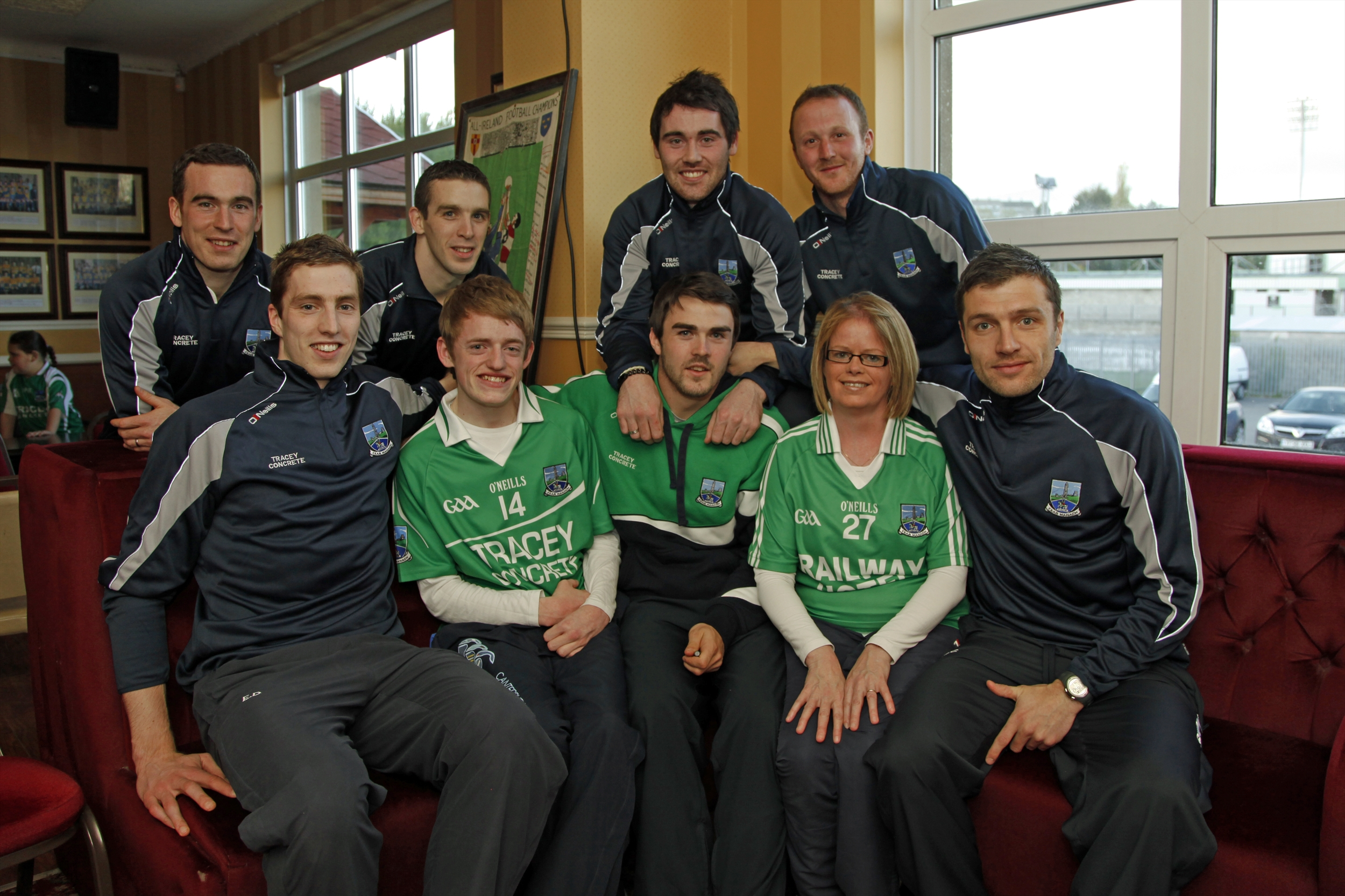 Fermanagh Fans Meet The Players
