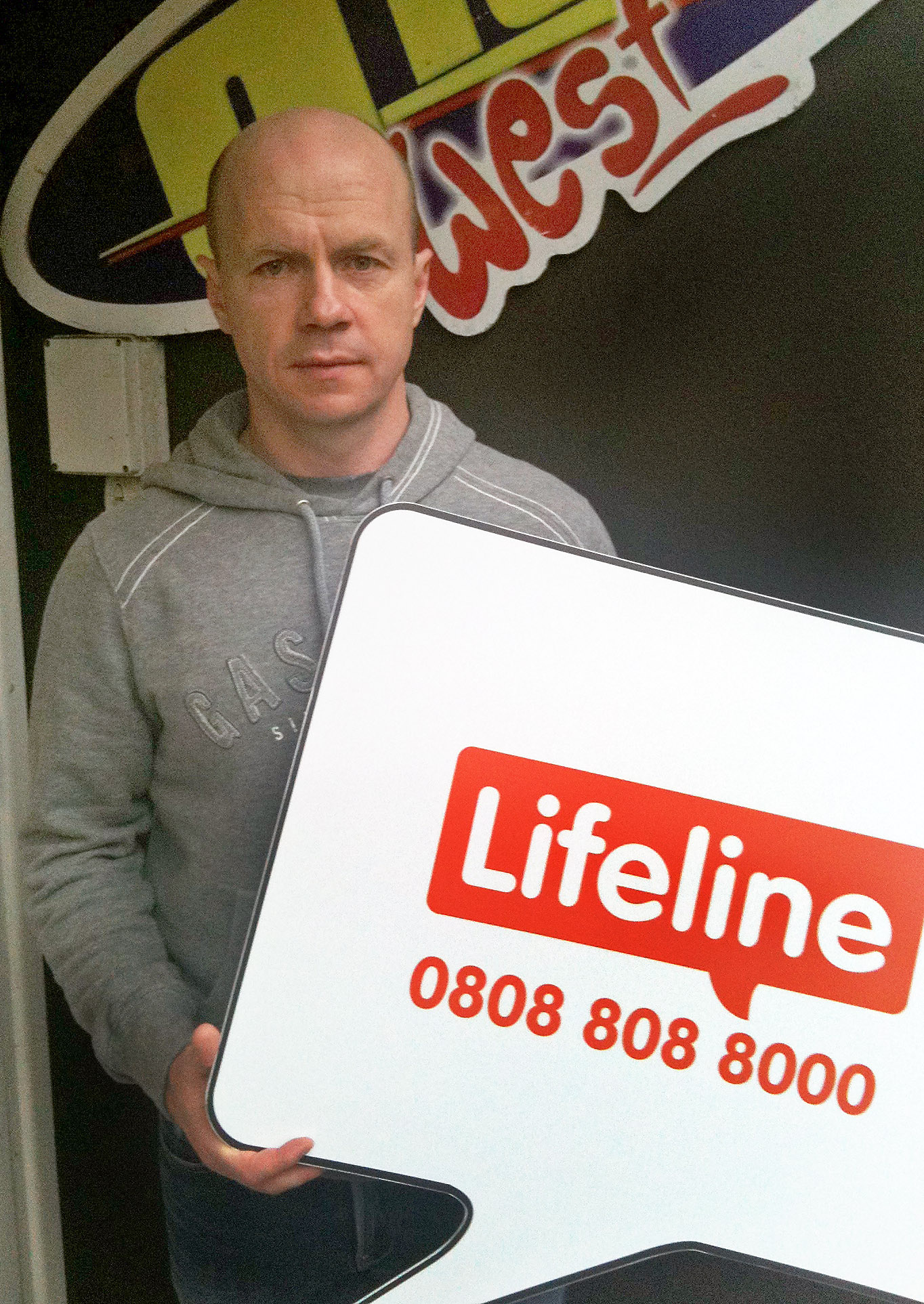 SPORTS STARS TACKLE MEN'S RELUCTANCE TO SEEK HELP WITH NEW LIFELINE CAMPAIGN