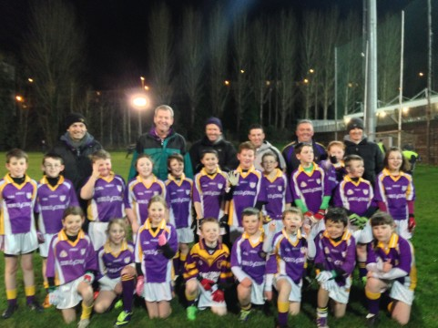 Derrygonnelly Half-time 8feb14