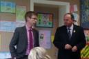 GAA President visits Tattygar P.S.