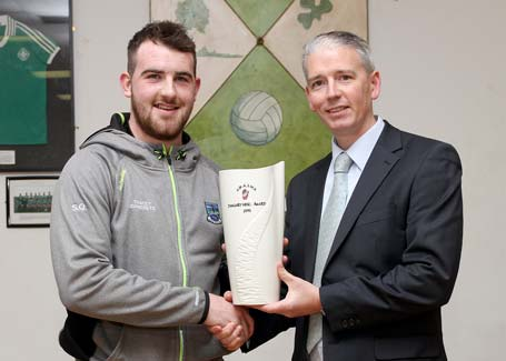 Sean Quigley Ulster GAA Writers winner for January 2015