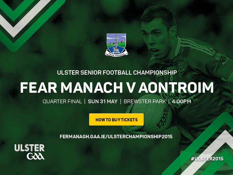 Fermanagh v Antrim Ulster Championship 2015