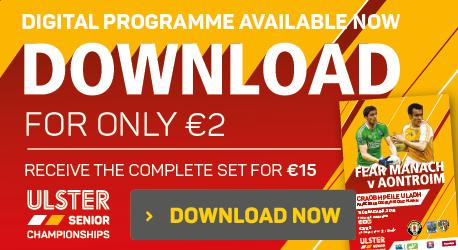 Digital Programme - Fermanagh v Antrim - Download Now V2