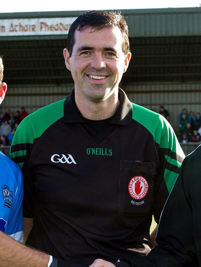 Tyrone referee for Fermanagh v Antrim – SFC