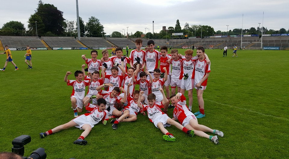 Well done to Belnaleck Under-14's