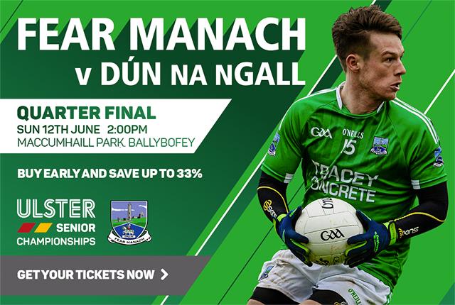 Fermanagh v Donegal Ulster Senior Football Championship 2016