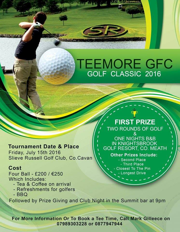 Teemore – Golf tournament
