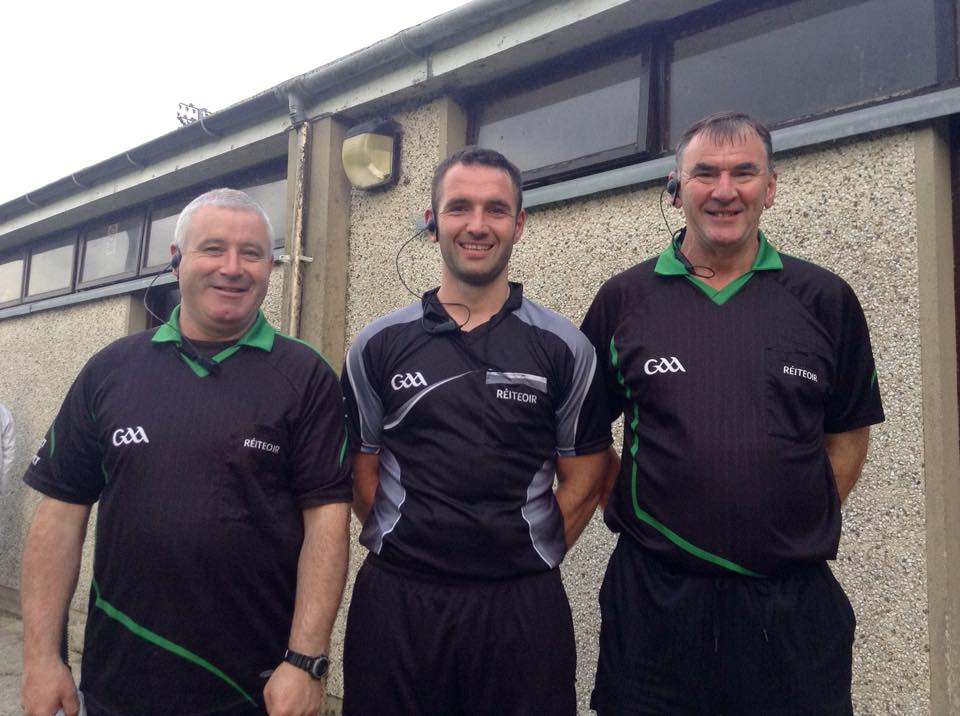 Fermanagh Referees fitness and rules test for Championship