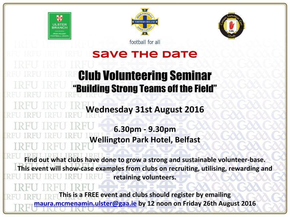 Volunteering Seminar