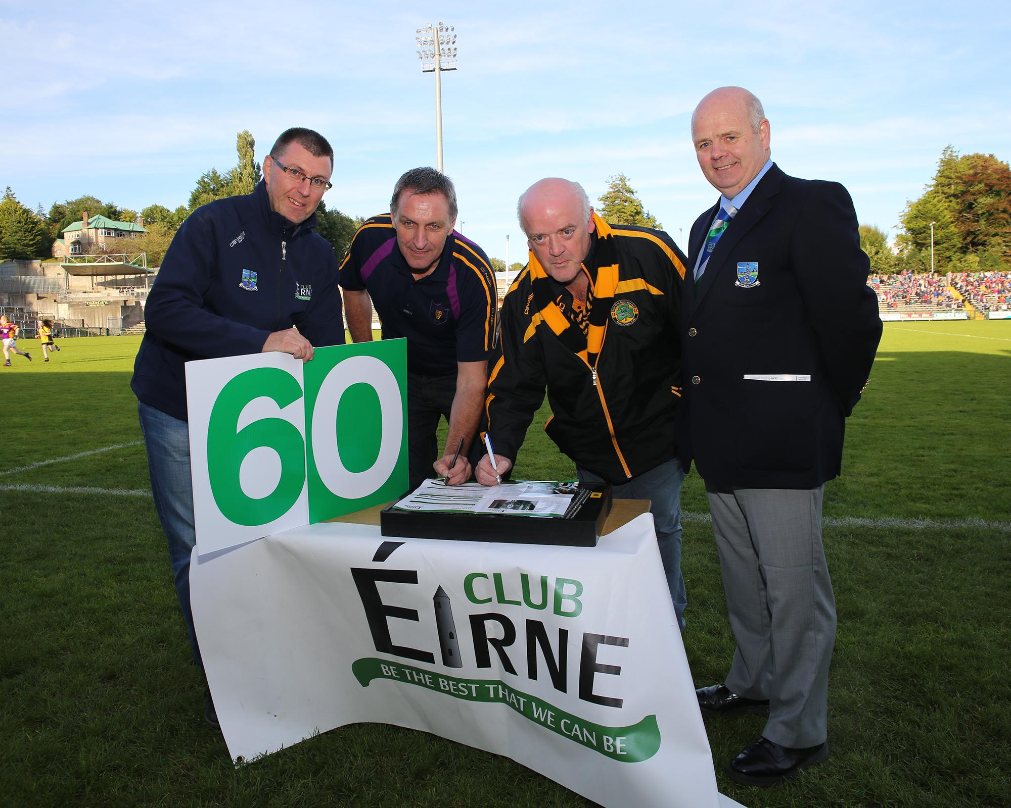 Club Eirne are 'Seeking Sixty'