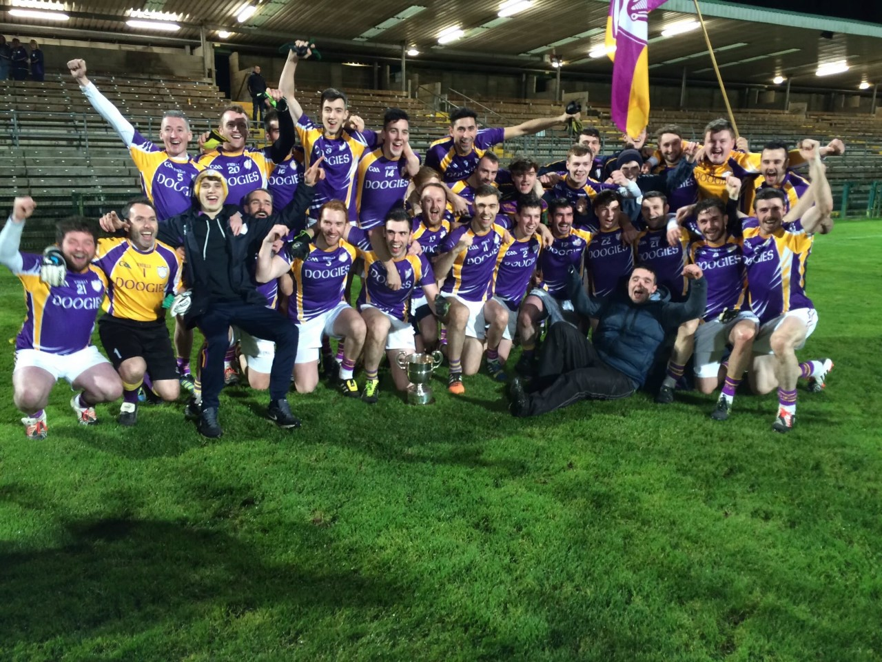Derrygonnelly Harps complete the 'Double Double'