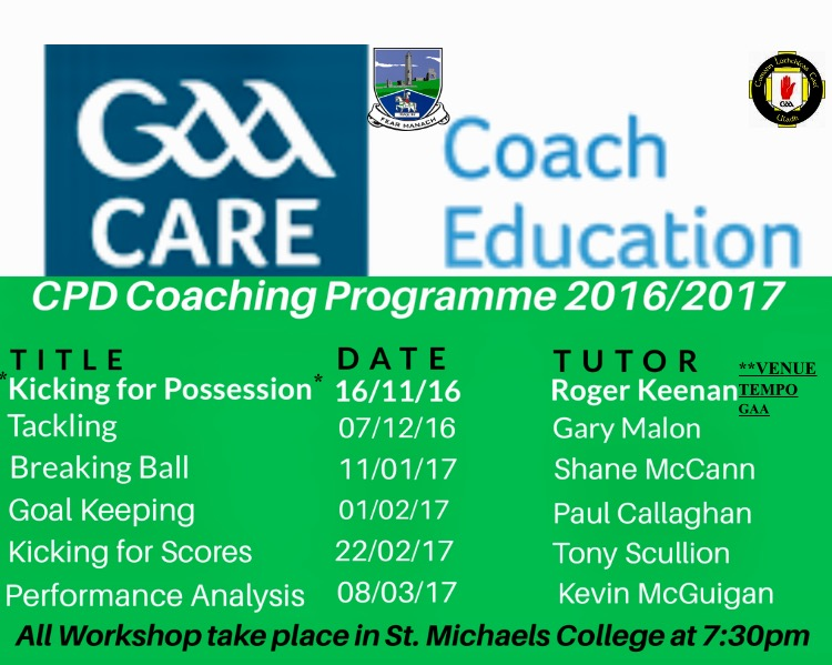 2016/2017 CPD Programme – Fermanagh