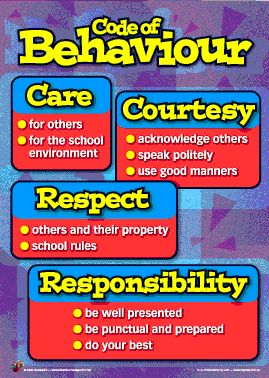 Code of Behaviour Booklets