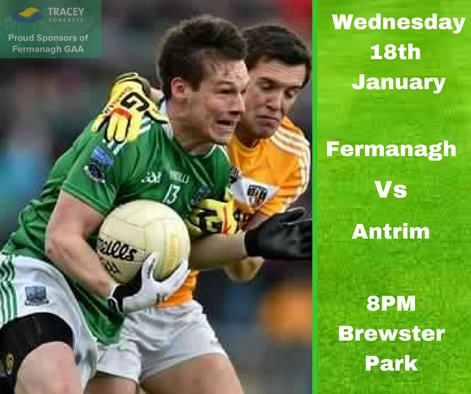 MCKENNA CUP – Fermanagh v Antrim PREVIEW