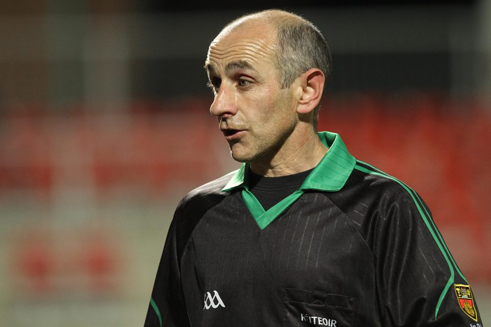 Fermanagh v St Marys referee confirmed