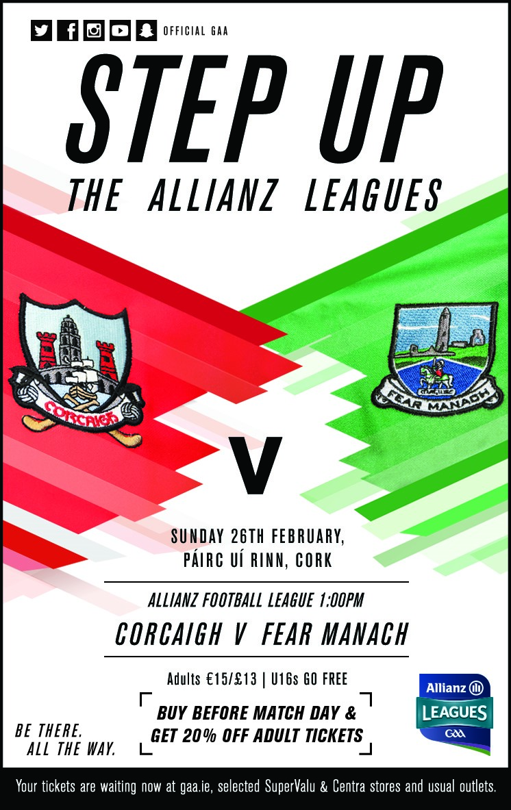 Next weekend we travel to Cork, NFL Division 2, round 3