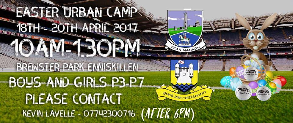 Easter Urban Camps – Enniskillen & Irvinestown