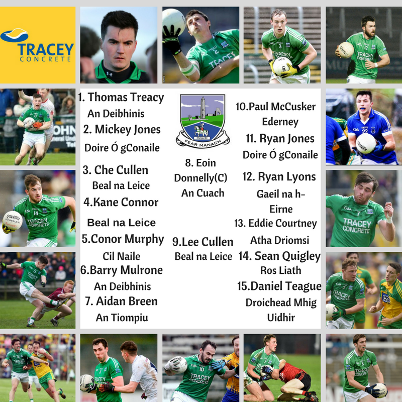NFL Division 2 – Fermanagh TEAM v Derry