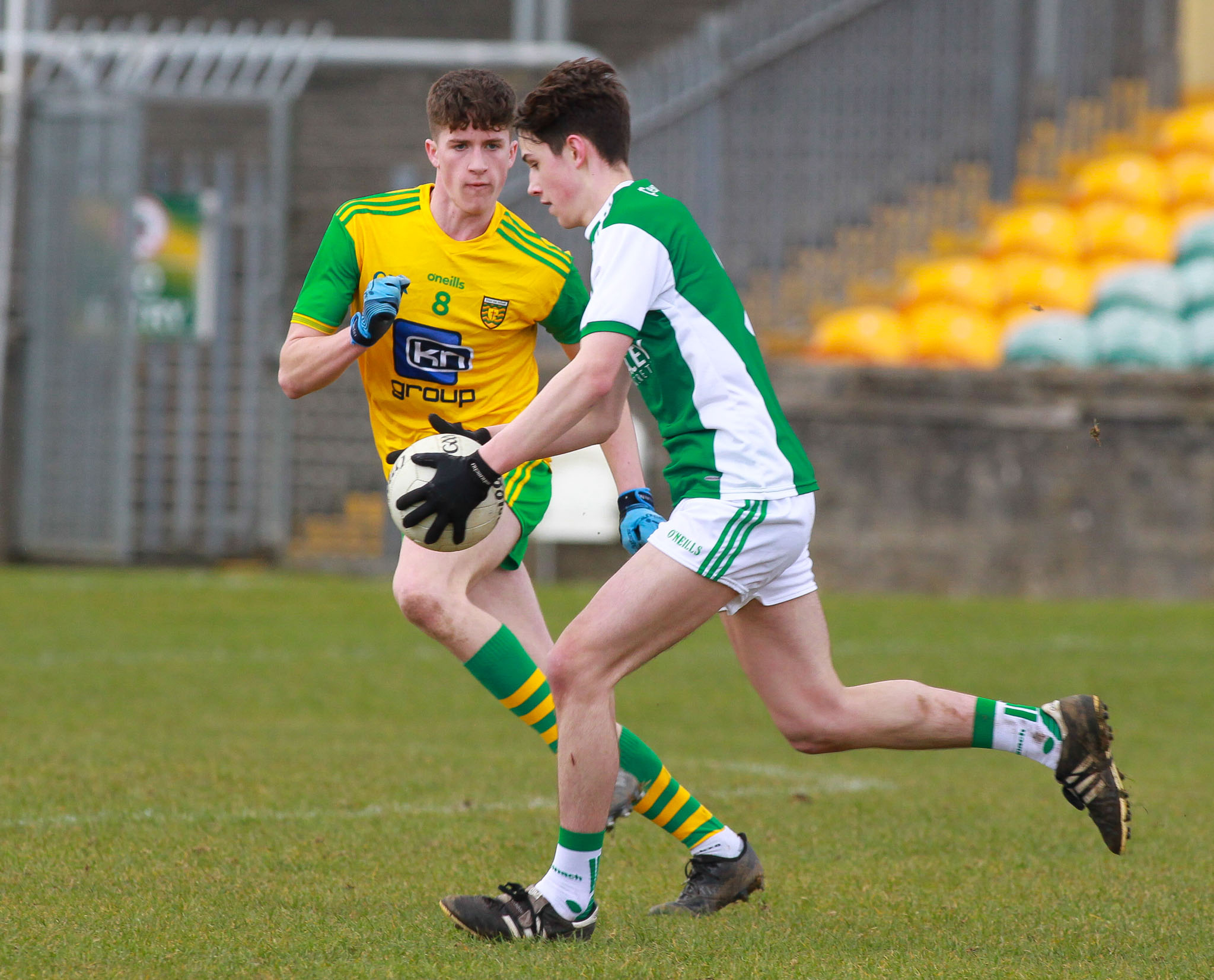 Rian McGovern is ready for Antrim