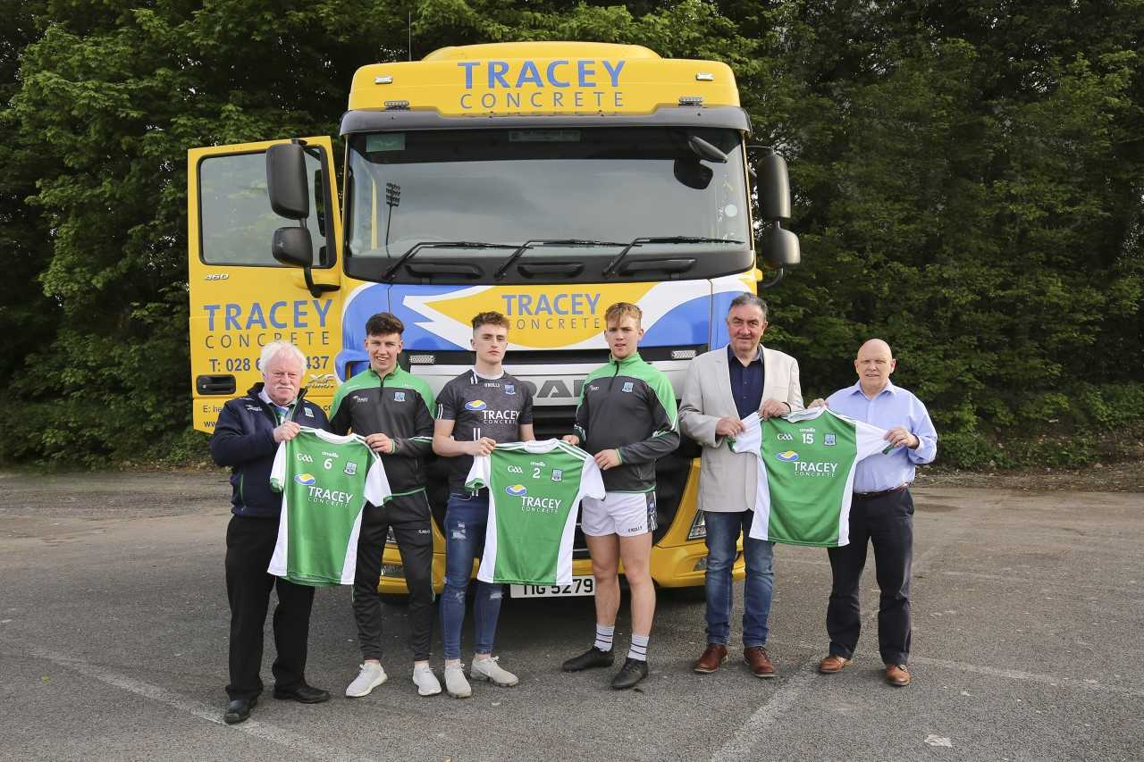 Tracey Concrete sponsors Fermanagh U-20s