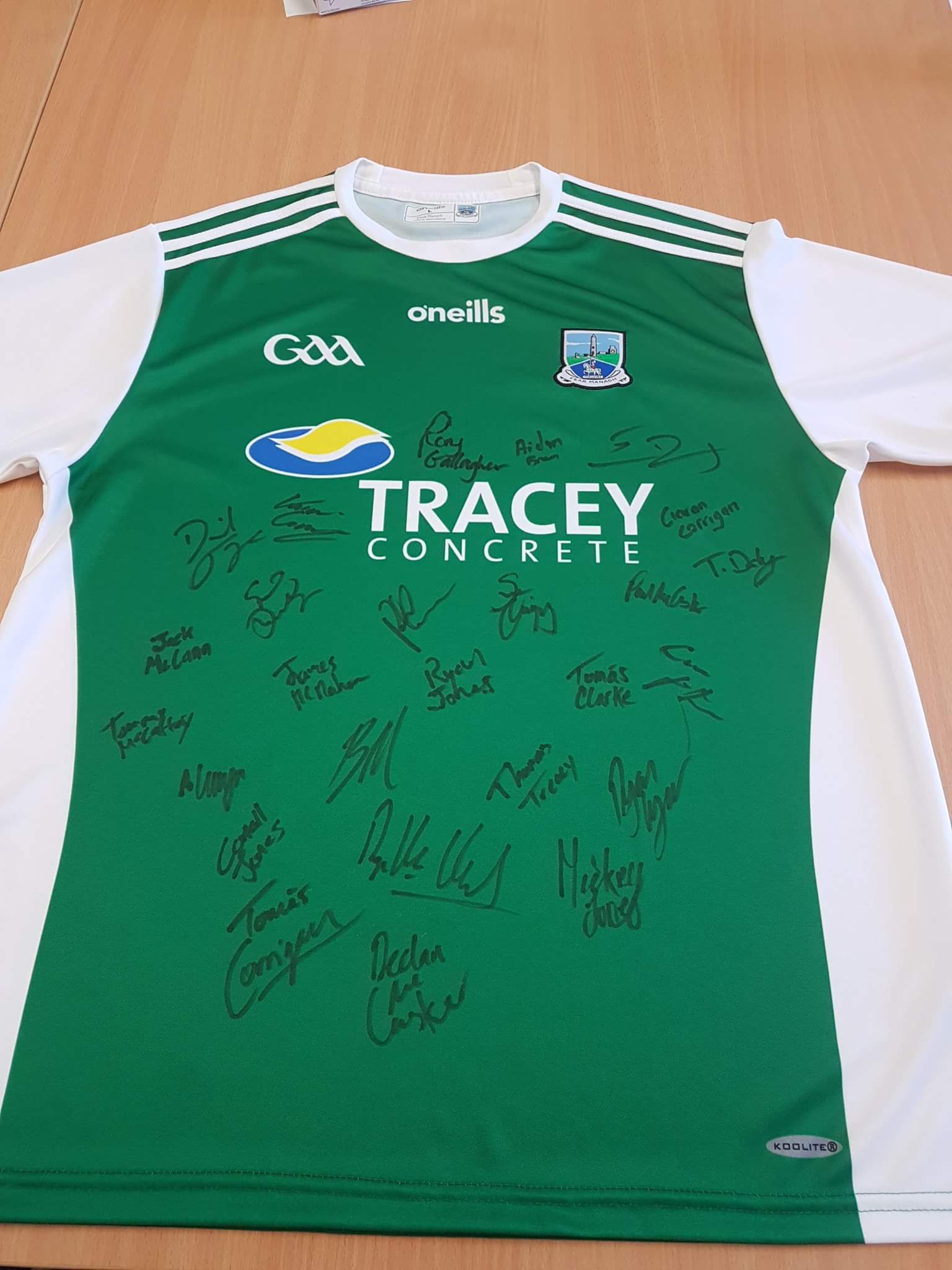 Signed Fermanagb shirt
