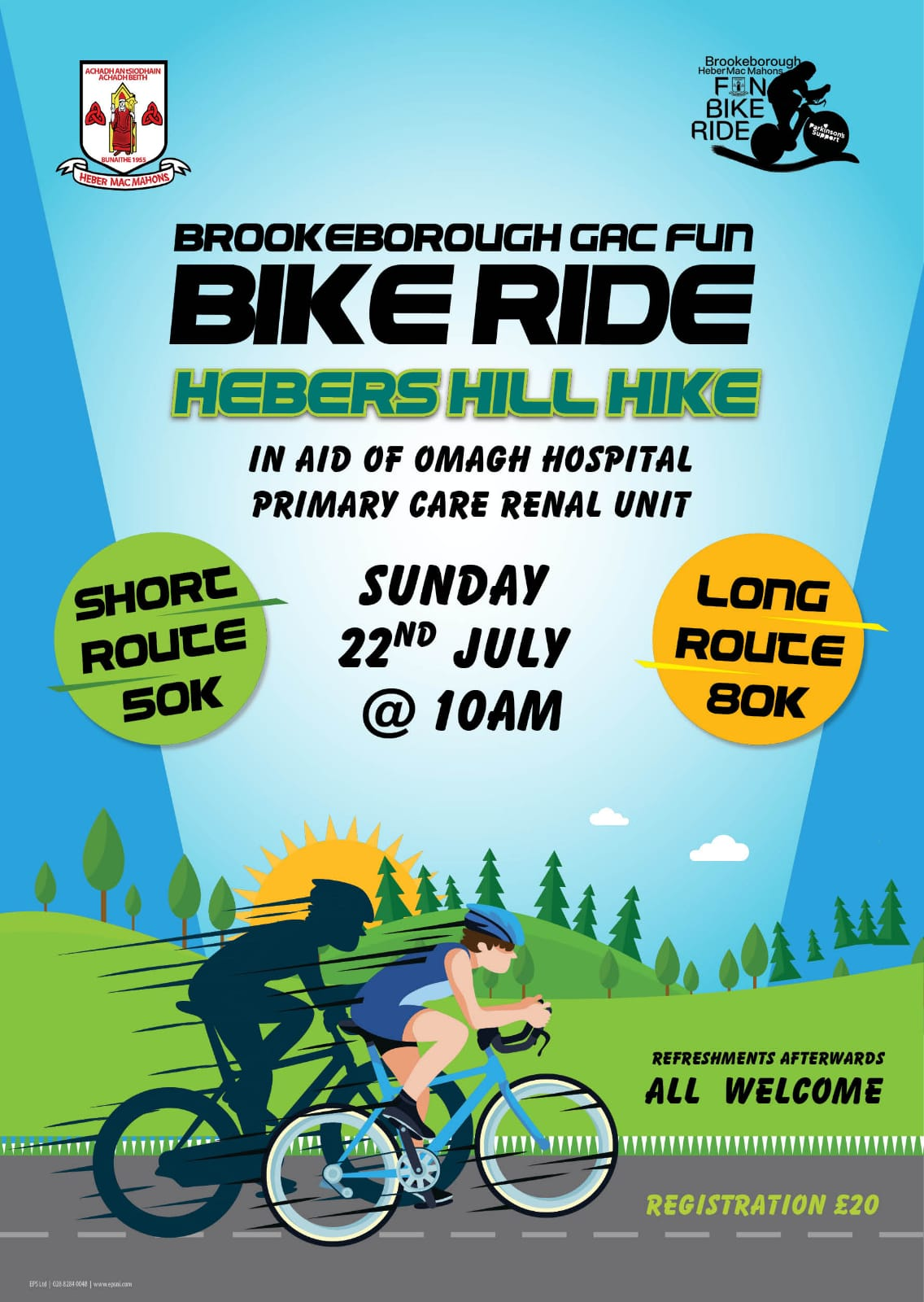 Brookeborough Heber McMahons Annual Hill Hike