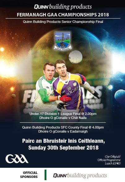 Fermanagh SFC Final – Watch online live from 3:30pm on Sunday. Buy your ticket now.