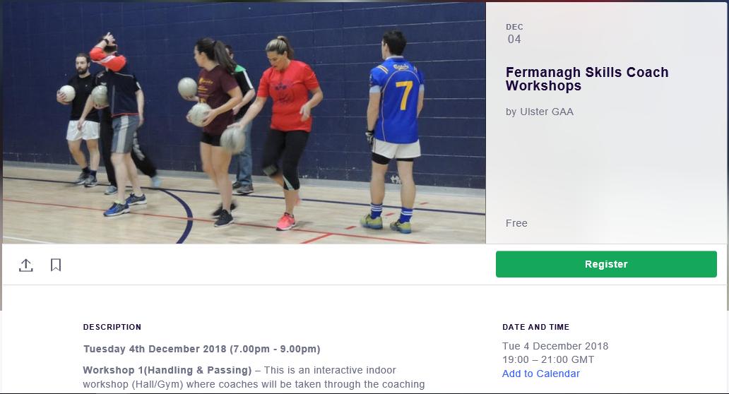 Fermanagh Skills Coach Workshops