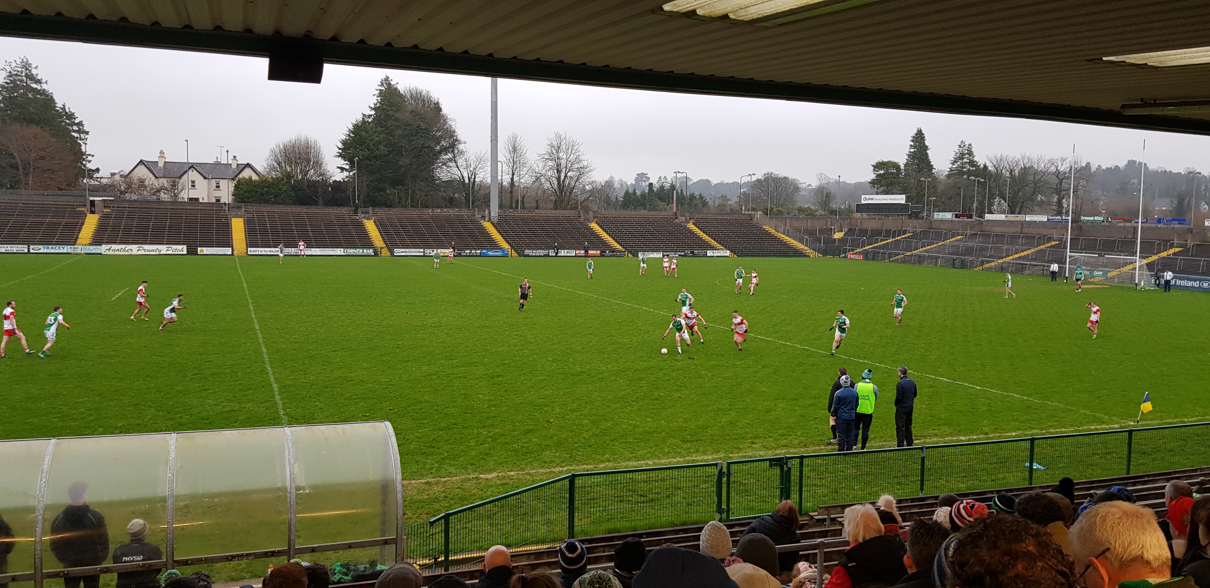 Fermanagh lose to Derry