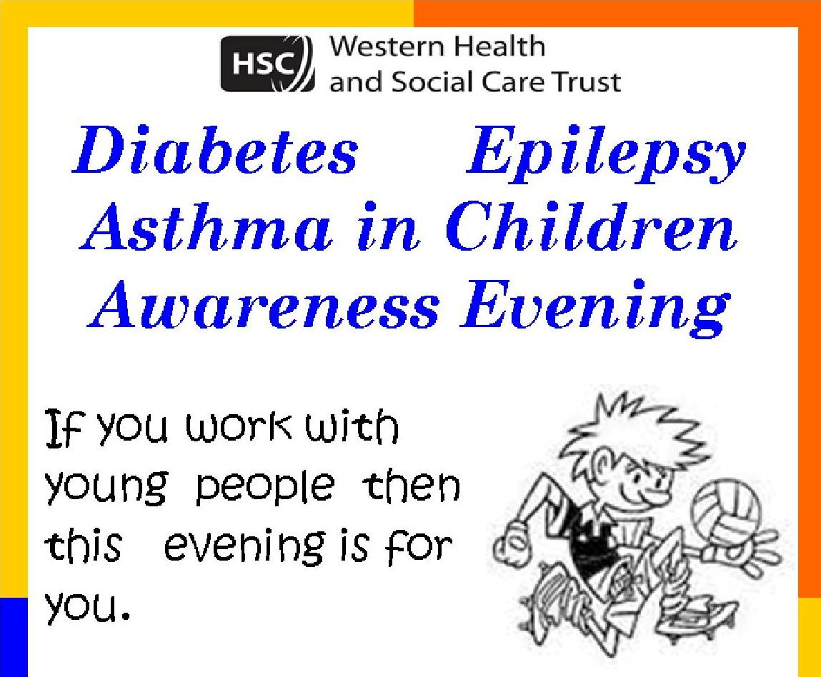 Awareness Workshop Eipen, Asthma, Diabetes and Epilepsy – Tuesday 25th June 2019