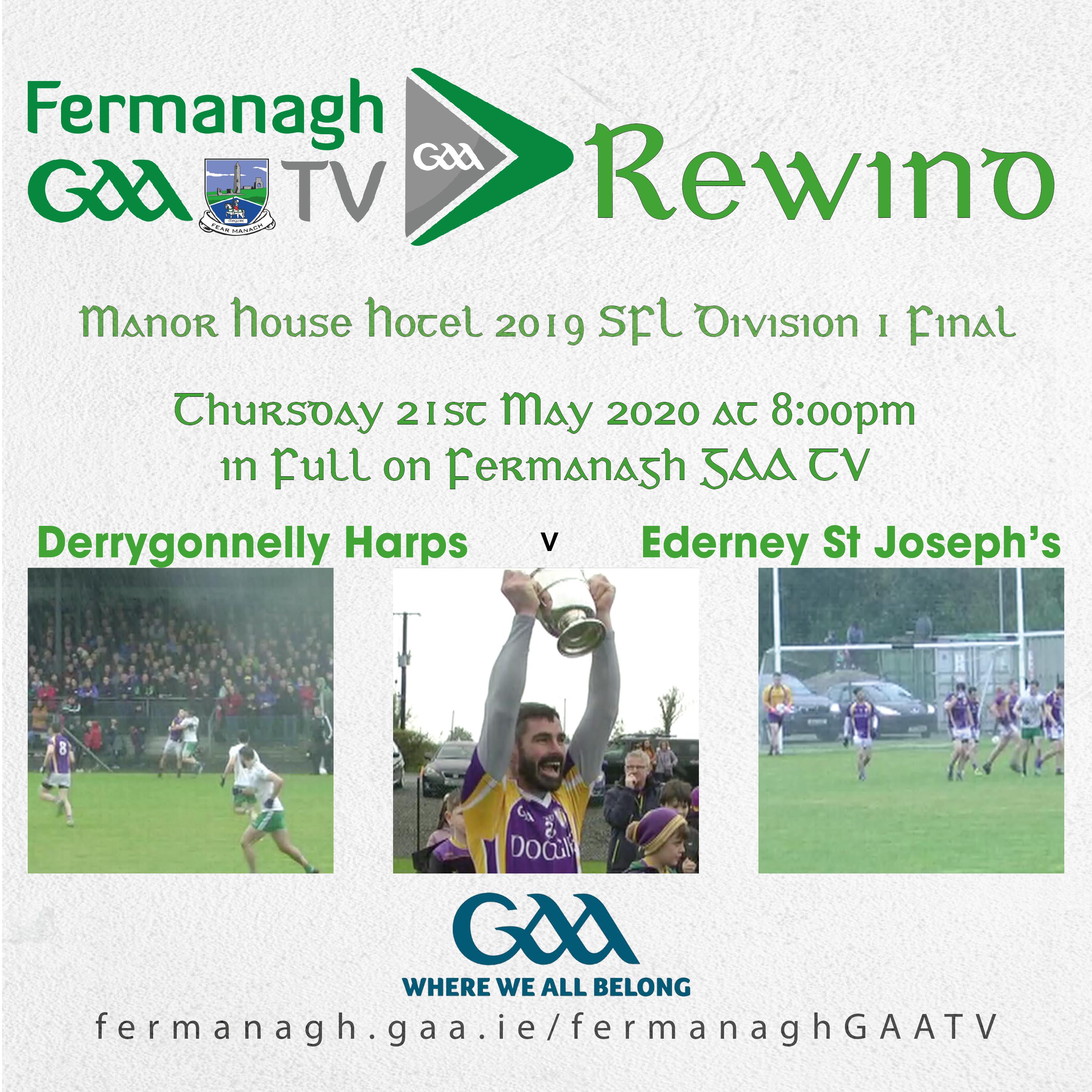 Fermanagh GAA TV Rewind – 21st May 2020
