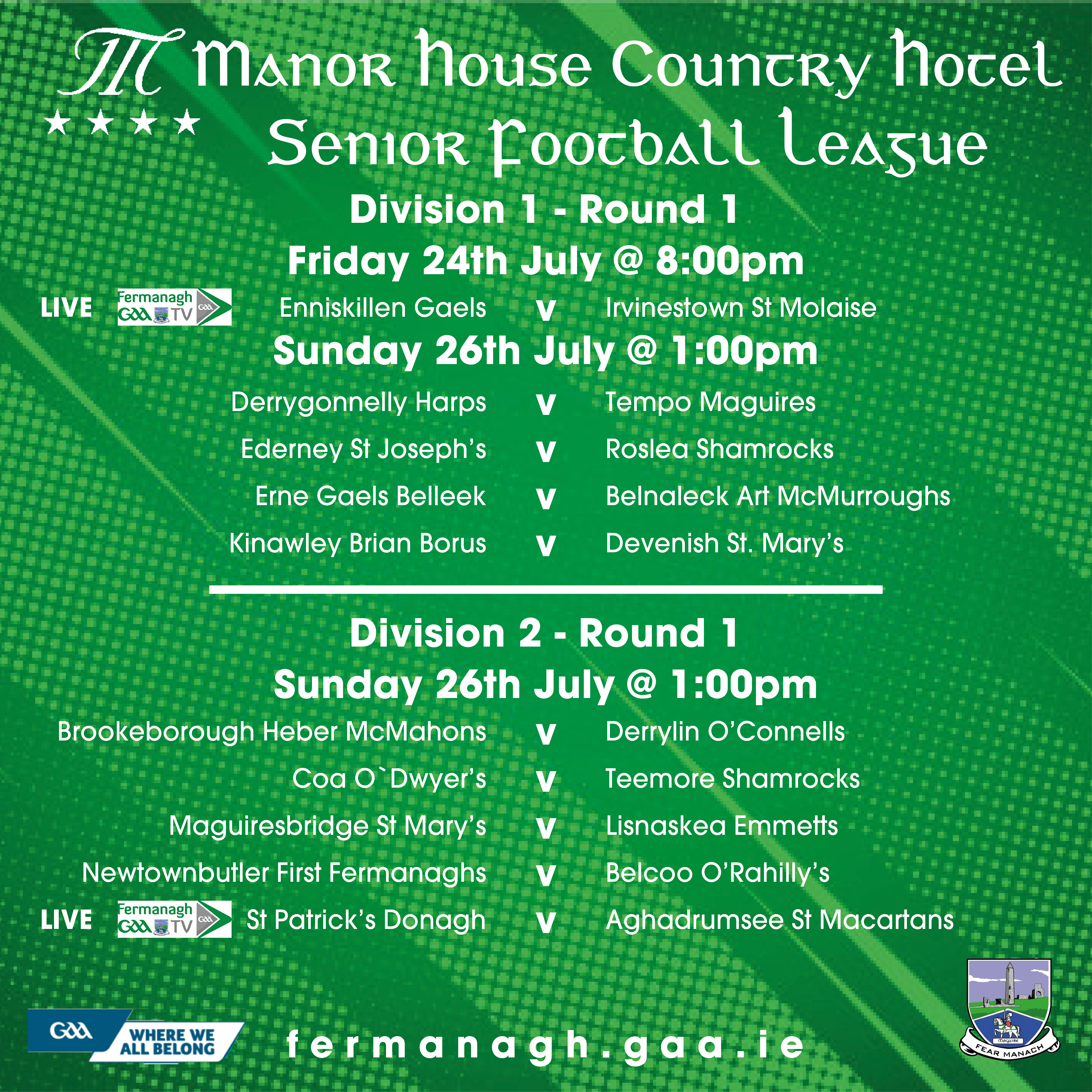 A Busy Weekend of Gaelic Games in Fermanagh