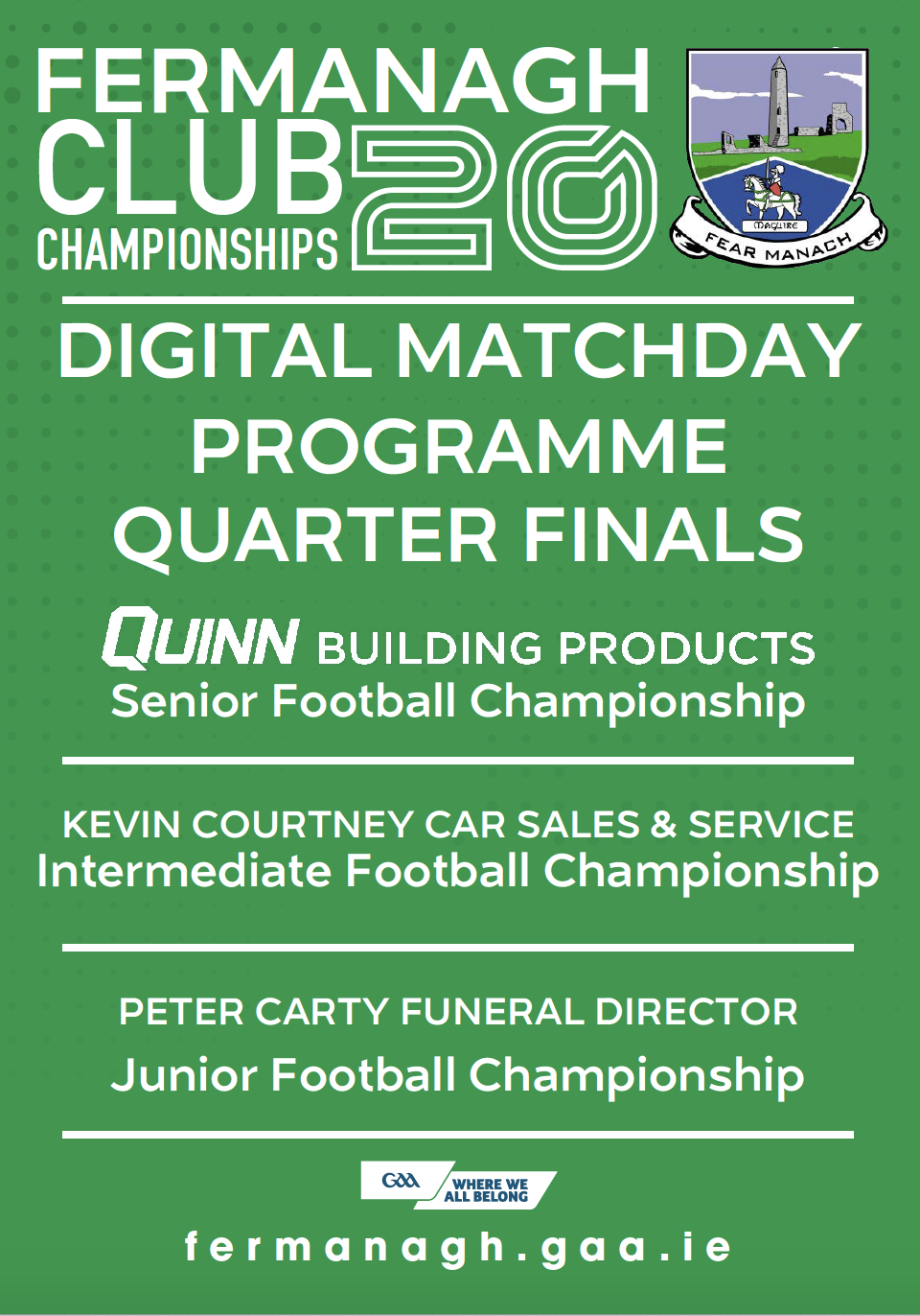 Club Championship Programme