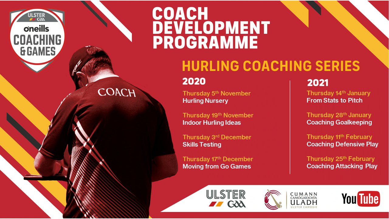 Upcoming Hurling Workshops / Coach education
