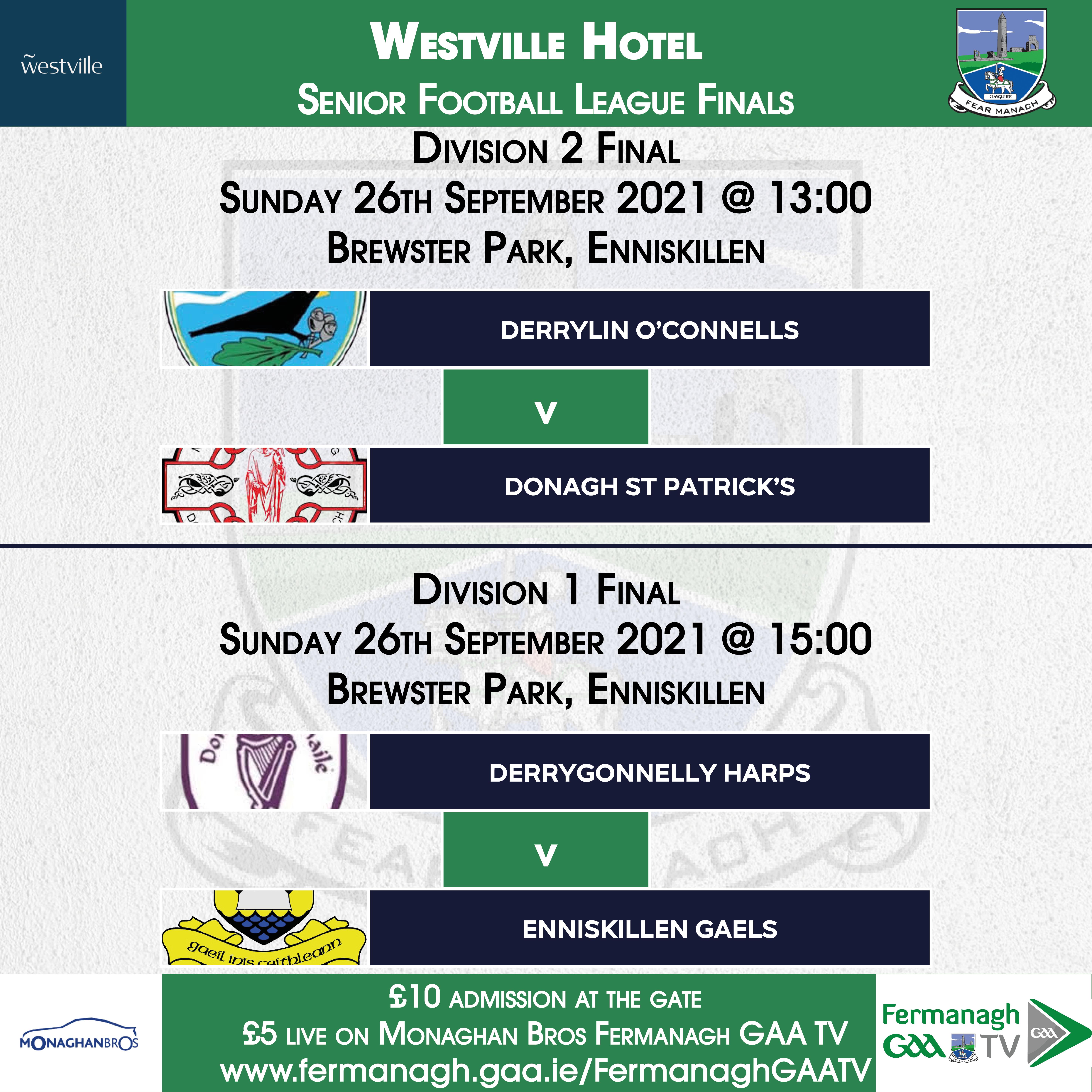 SFL Finals – Live on Fermanagh GAA TV